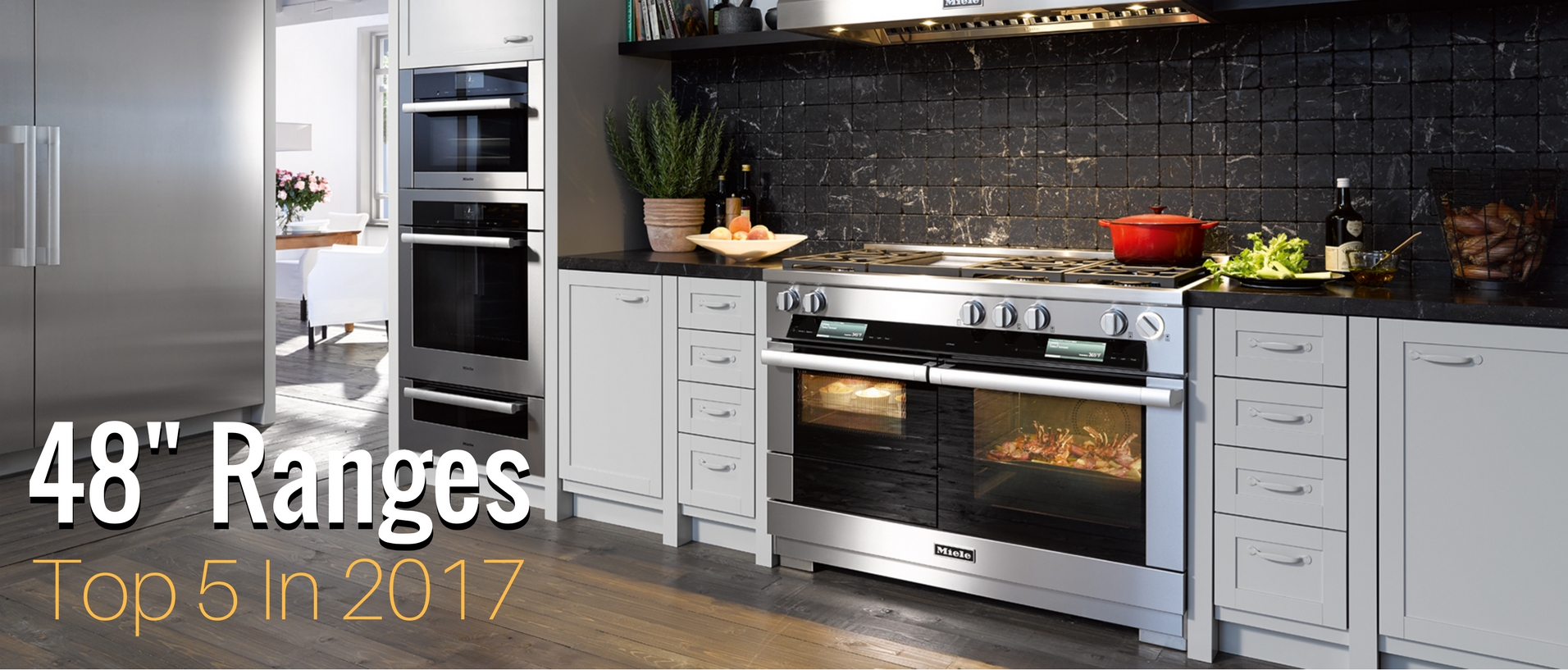The 48 Range Is Cornerstone Of Any Modern Kitchen And There Are A Lot Options From Which To Choose Whether You Replacing An Older Oven Or Just