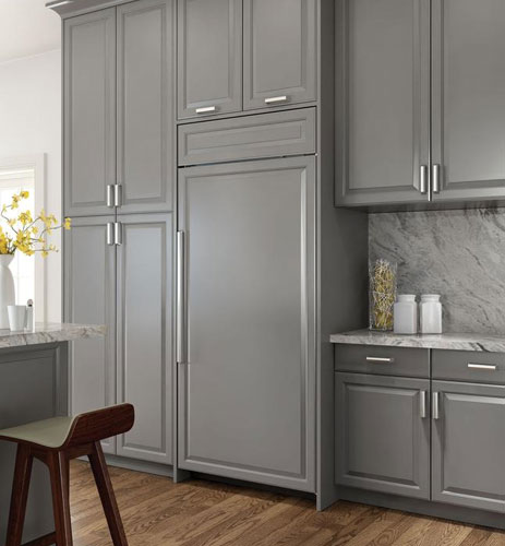 Dream Kitchen Appliances: Dream Kitchens With Custom Color Panel Ready Refrigerators