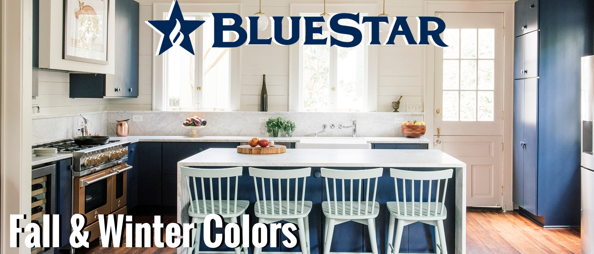 BlueStar Fall and Winter Colors Banner