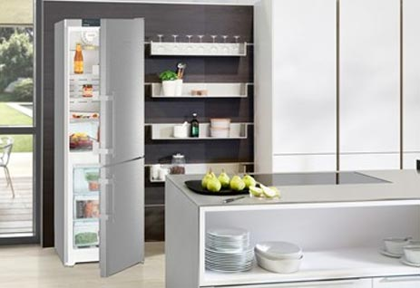 CS1210 24 Inch Counter Depth Bottom Freezer Refrigerator
