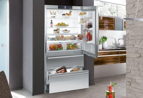 CS2060 36 Inch Counter Depth Bottom Freezer Refrigerator