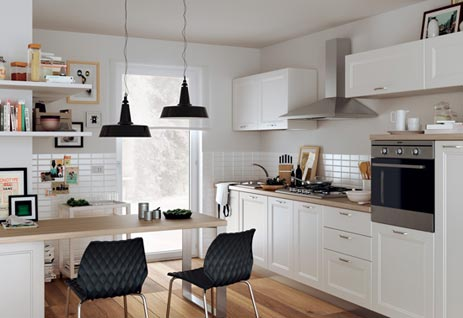 Casual Horizontal Kitchen