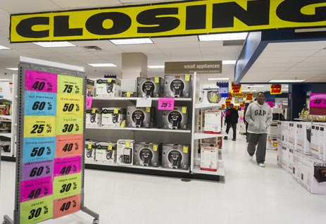 Department Store Closing