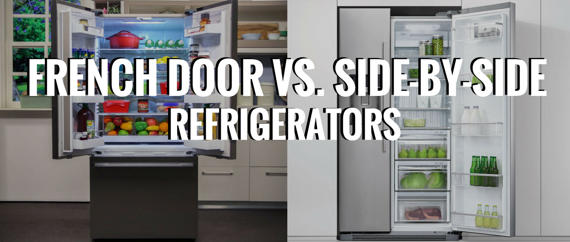French Door Vs. Side-By-Side Refrigerators | Appliances Connection on house plans with soffits, house plans with master retreat, house plans with large pantries, house plans with large rooms, house plans with walk-in closets, house plans with 10 foot ceilings, house plans with pocket doors, house plans with arches, house plans with sunken living room, house plans with sweeping staircase, house plans with grand foyer, house plans with glass, house plans with brick exterior, house plans with wood ceilings, house plans with arched doors, house plans with maids quarters, house plans with sleeping porch, house plans with side porch, house plans with jack and jill bath, french bathroom doors,