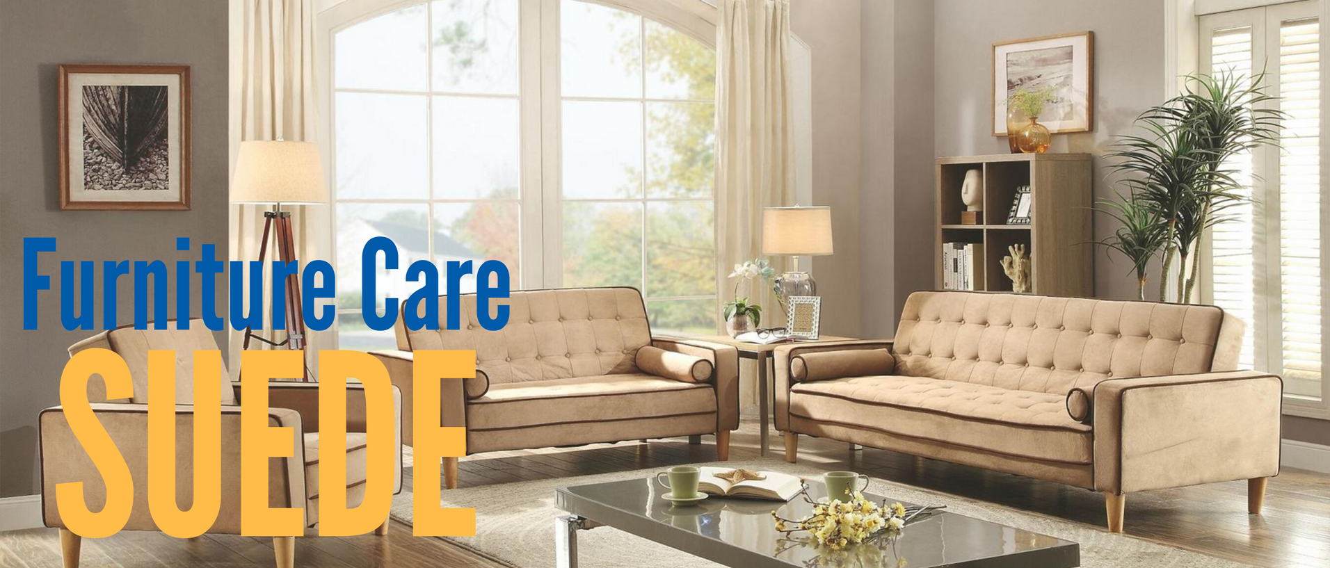 Furniture Care Suede Banner