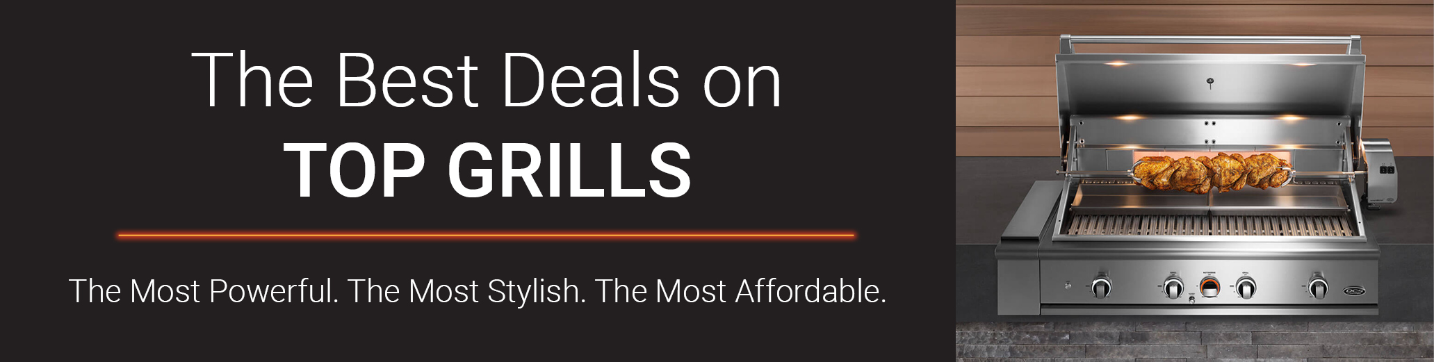 Shop Now for The Best Grills