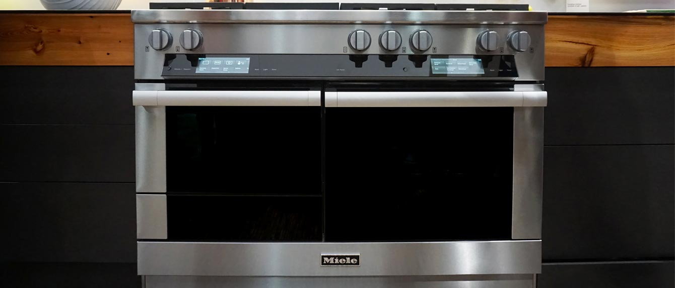 Miele HR1956DFGD M-Touch Series 48-Inch Freestanding Dual Fuel Range