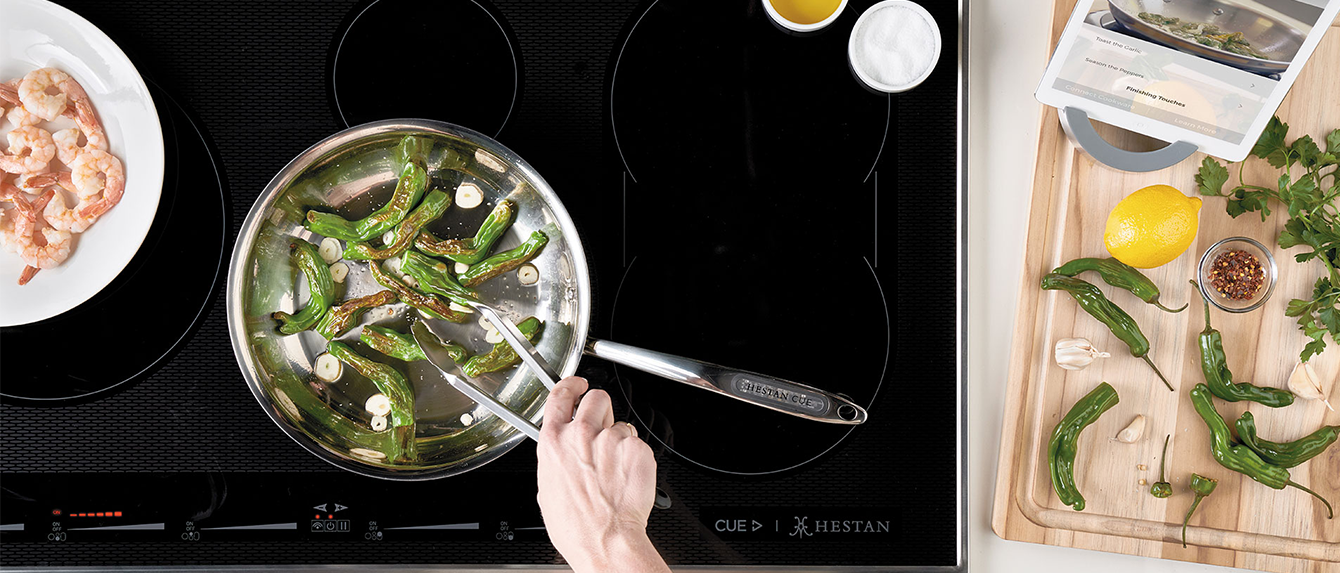 Hestan Smart Induction Cooktops Banner