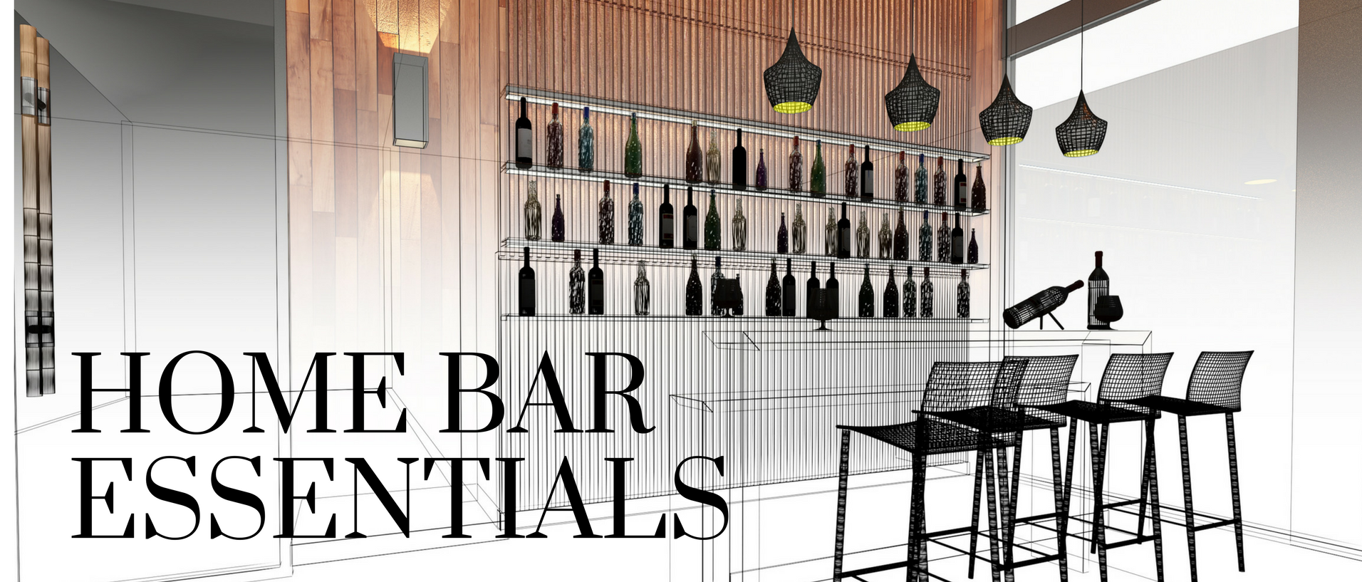 home bar esentials