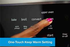 One Touch Keep Warm Settings