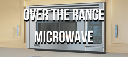 Viking Over the Range Microwave