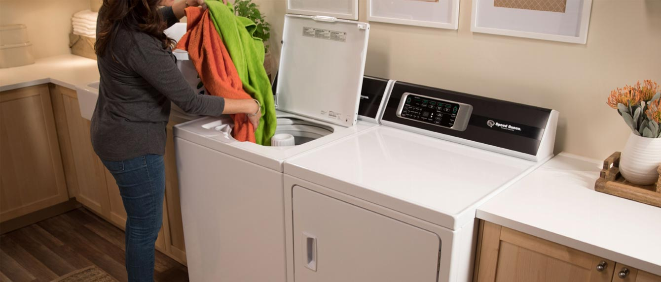 New for 2018 - Speed Queen's Top-Loading Washers and Matching Dryers
