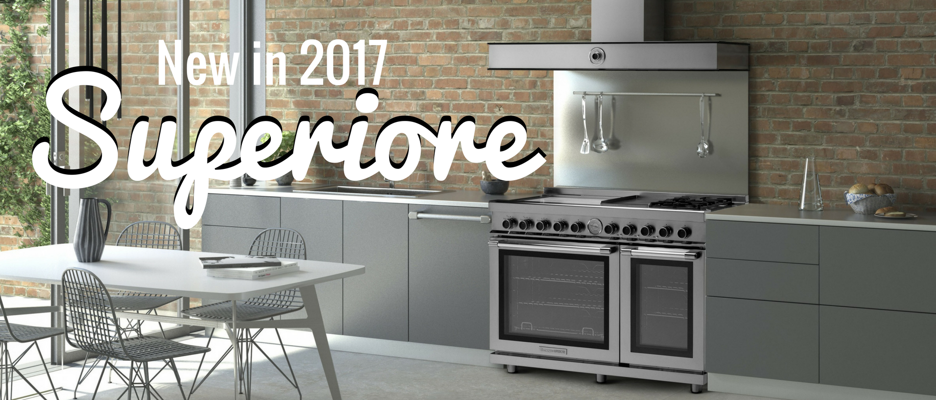 Superiore Appliances 2017 Banner