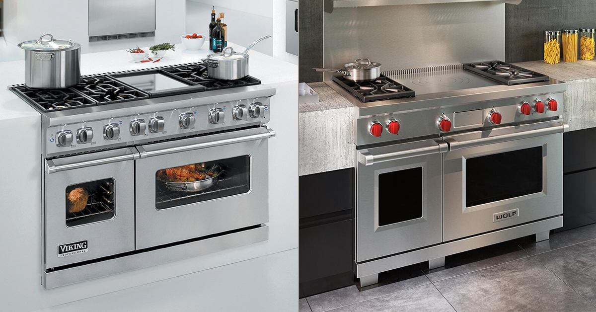 Viking Vs Wolf Ranges Which One Is Better Appliances Connection