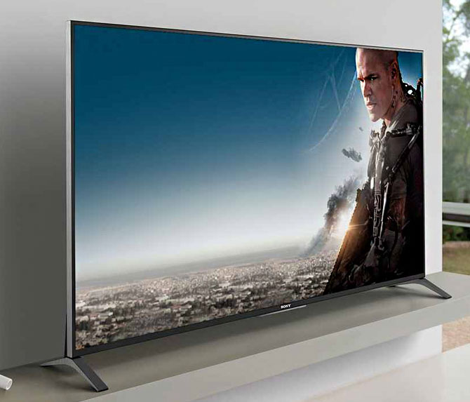 Sony XBR77A1E LED TV with 4K HDR