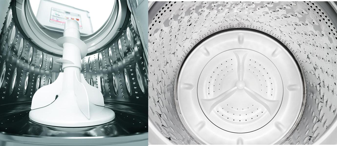 washing machine no agitator