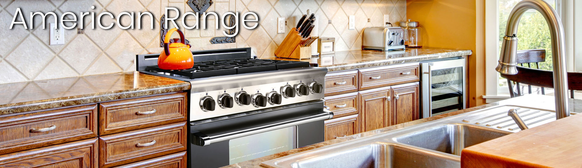 American Range Custom Color Appliances at Appliances Connection