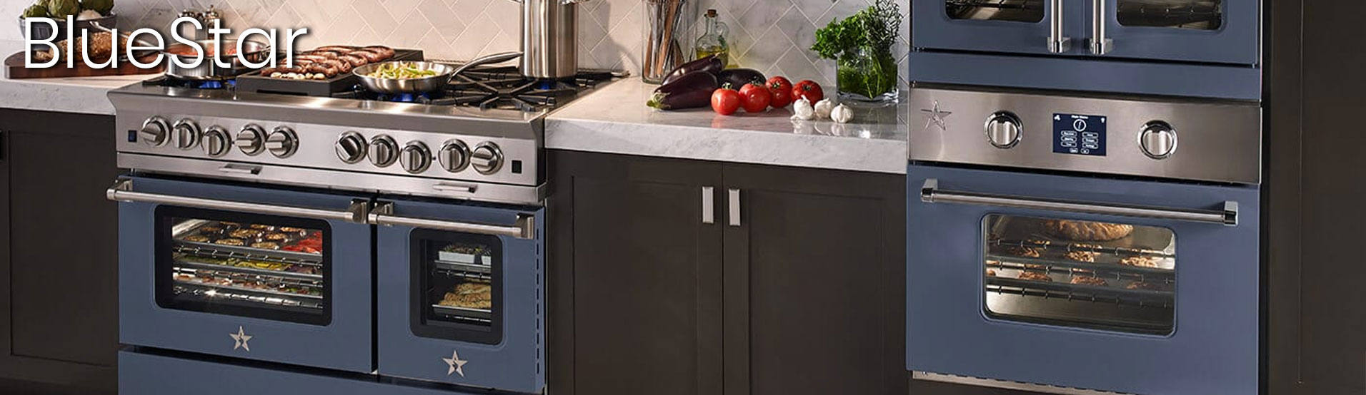 BlueStar Custom Color Appliances at Appliances Connection