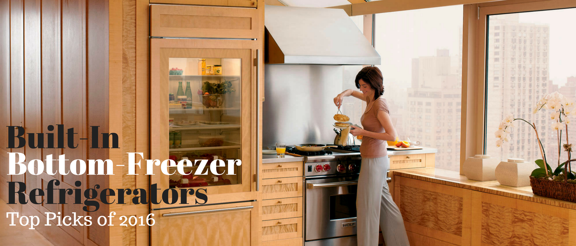 built-in bottom-freezers