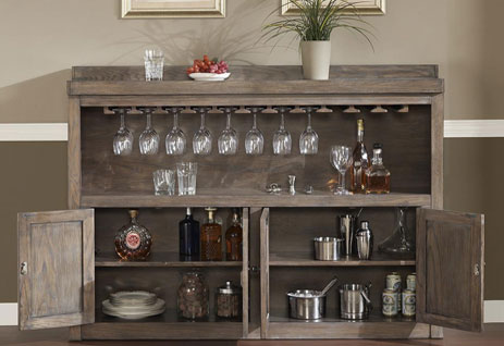 New American Heritage Bar Cabinet
