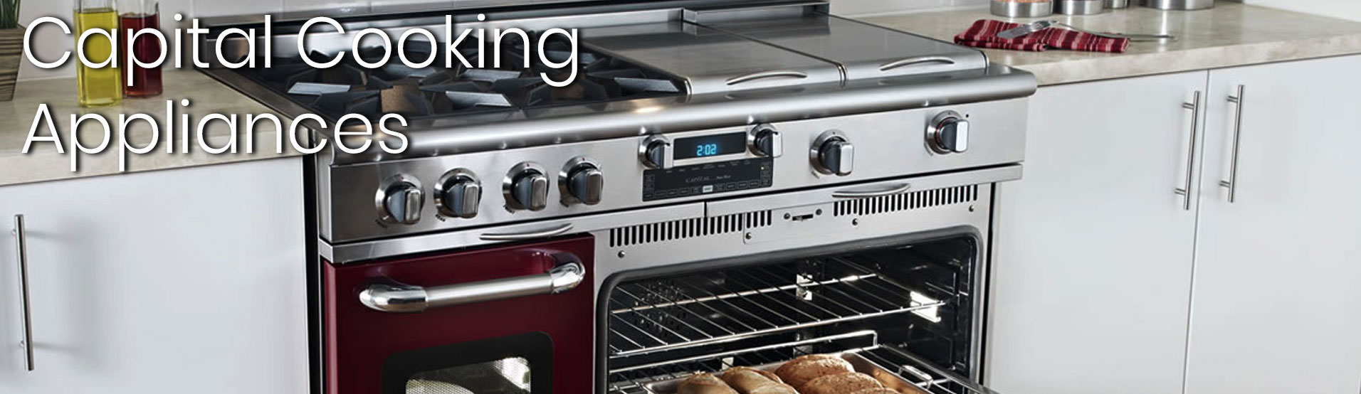 Custon Color Capital Cooking Appliances from Appliances Connection