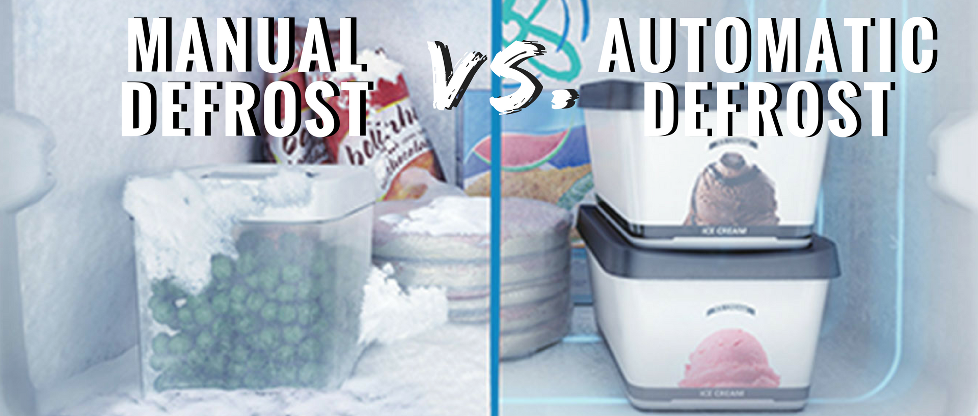 manual vs automatic defrost