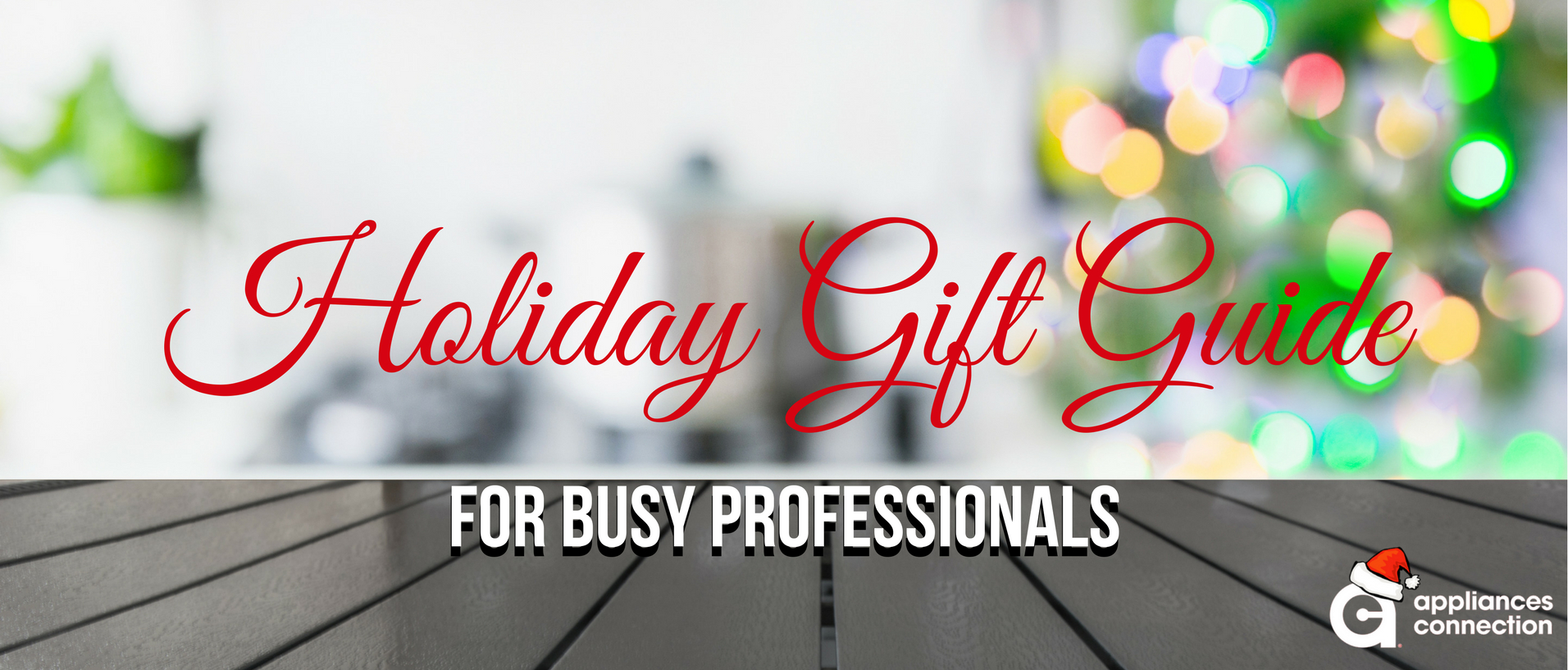 gift guide professionals banner