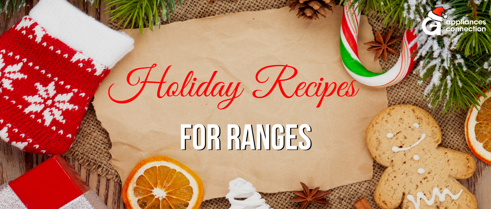 Holiday recipes banner