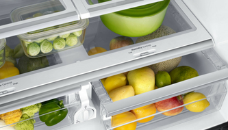 humiditycontrolled crisper drawers