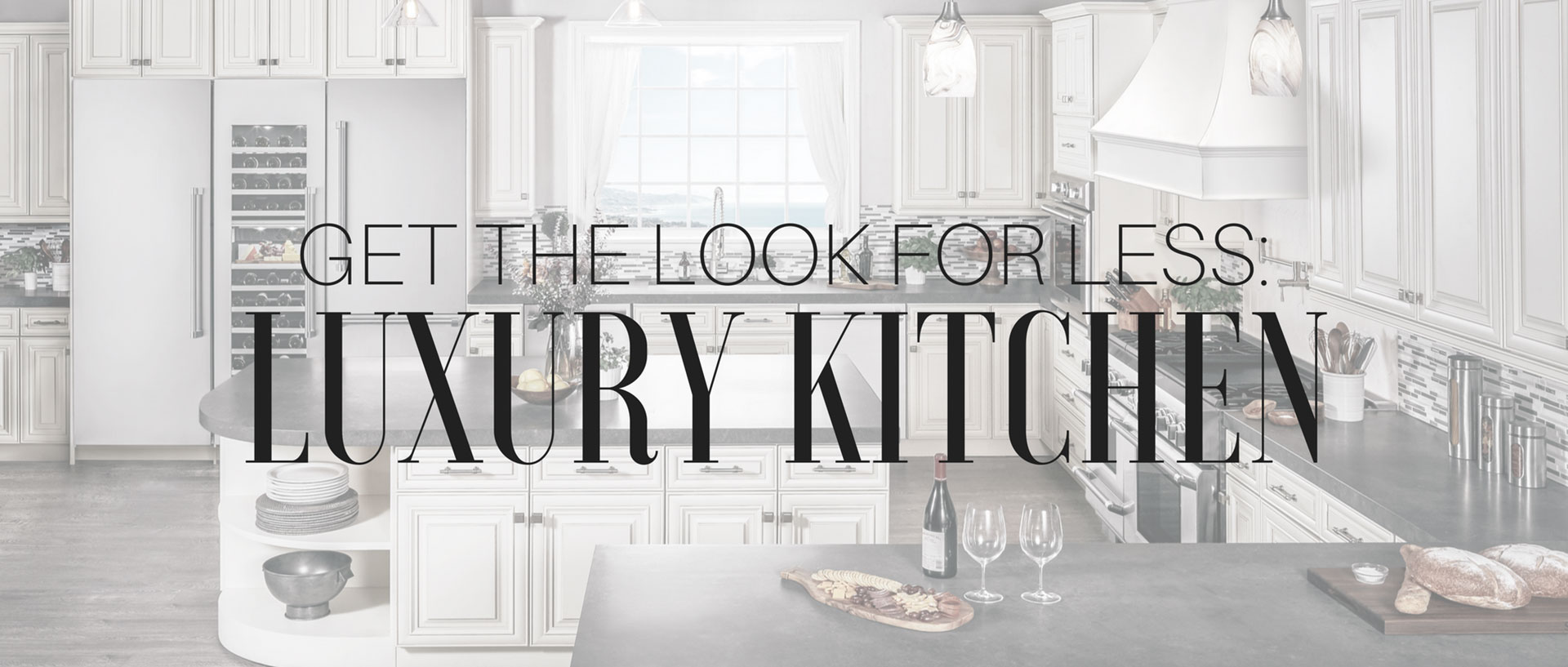 How to Build a Luxury Kitchen for Less | Appliances Connection