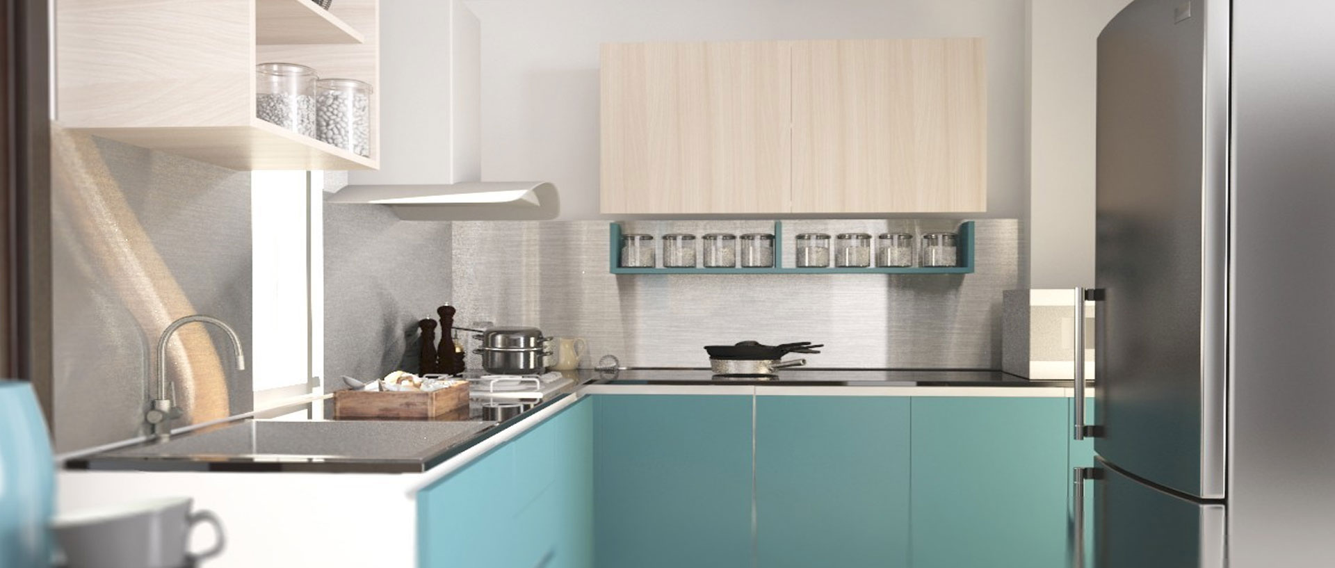 Remodeling an L-Shaped Kitchen | Appliances Connection on