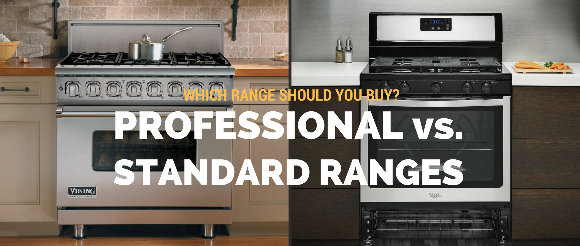 Professional Vs. Standard Ranges. Find Out Which Range Is Right For You At  Appliances Connection, Whether Itu0027s A Pro