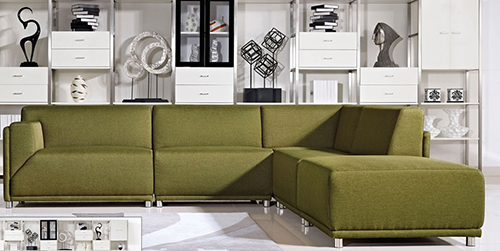 Diamond Sofa MODERNALF5PCGN