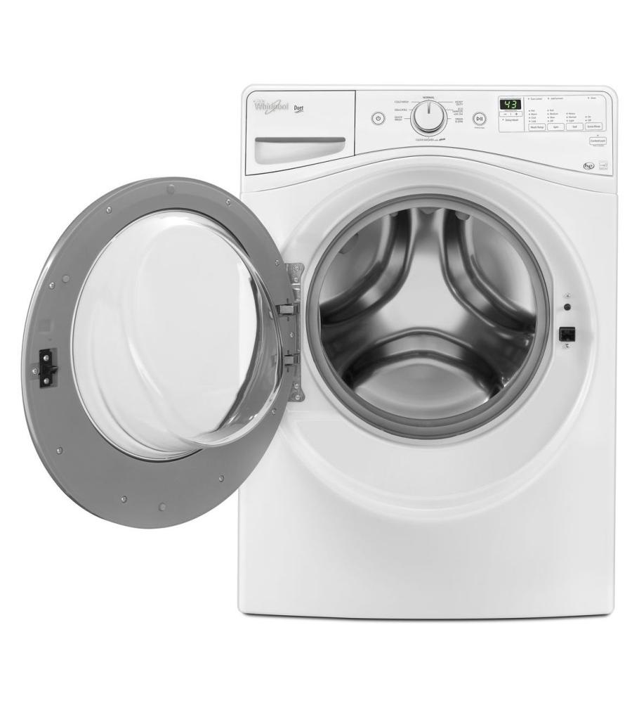 whirlpool washing machine tearing clothes
