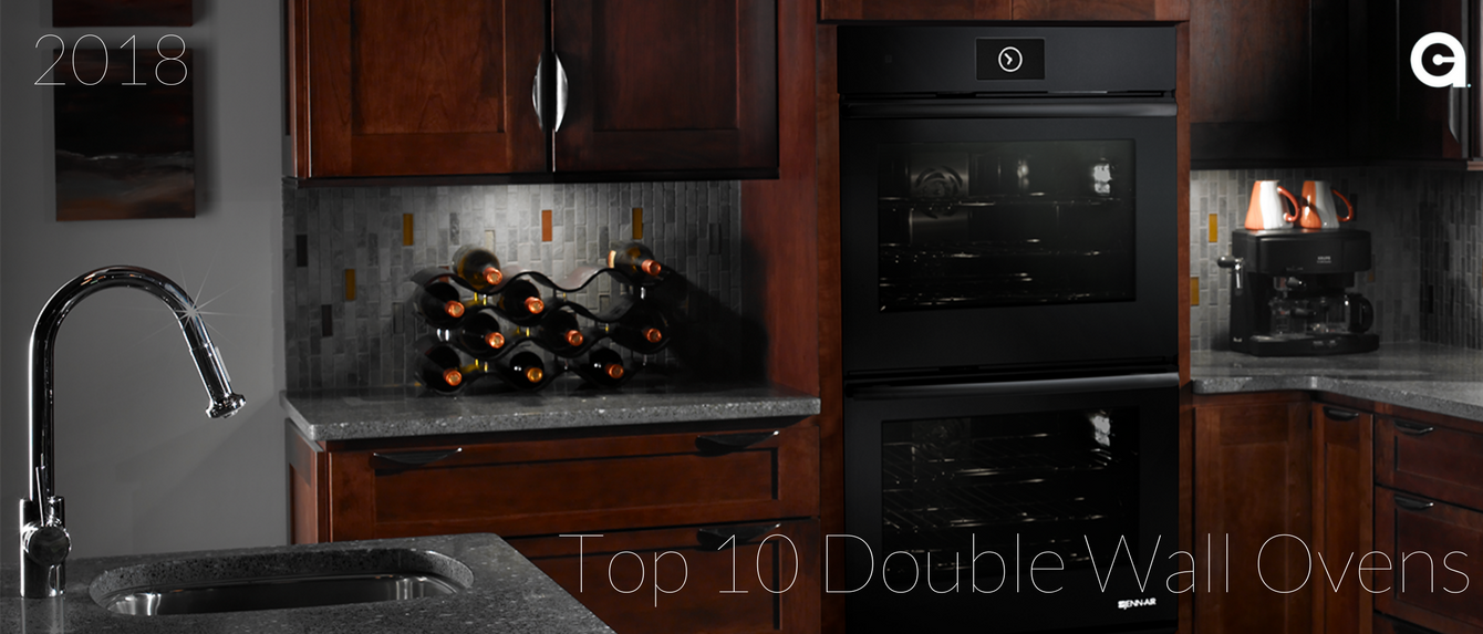 Top 10 Double Wall Ovens 2018 Banner