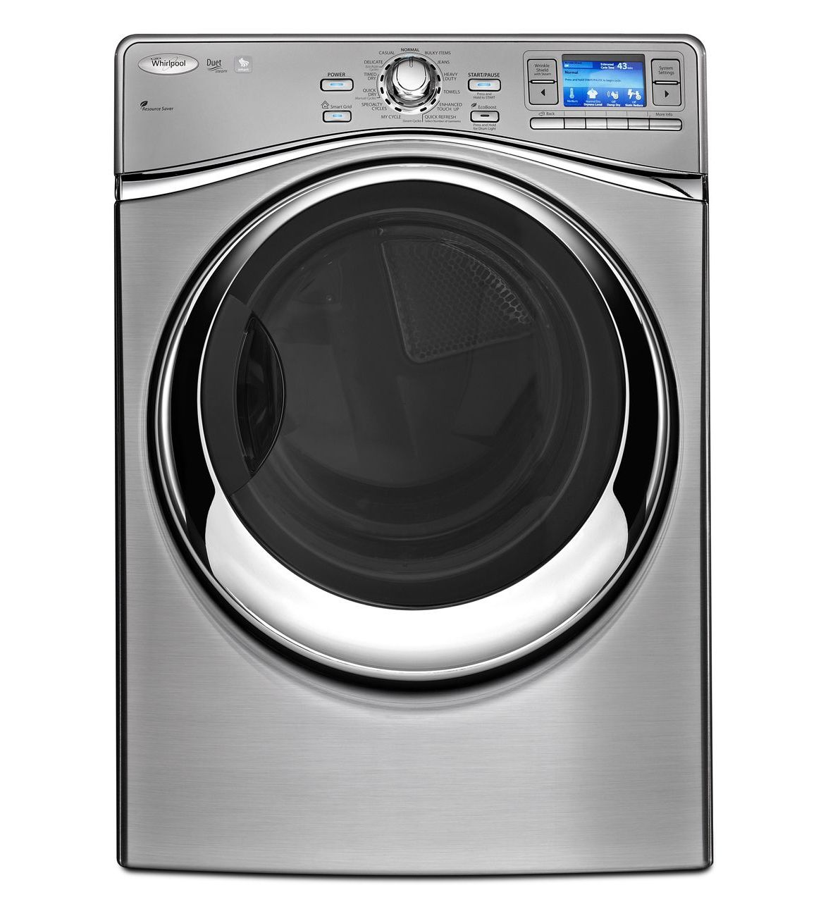Dryer Buying Guide Appliances Connection Washing Machine Parts Diagram Additionally Whirlpool Duet Washer Wel98hebu Smart Front Load