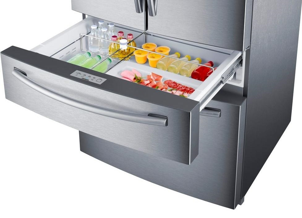 Samsung Appliance Rf30kmedbsr 36 Quot French Door Refrigerator