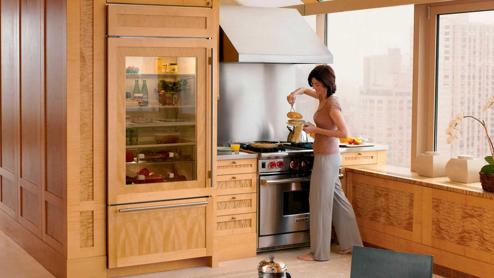 Kitchen Appliances Built In Built In Bottom Freezer Refrigerator Picks Appliances Connection