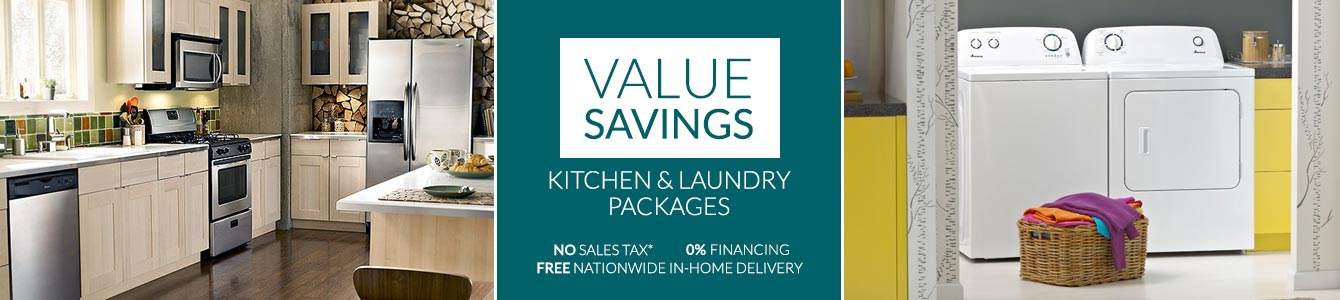 Kitchen and Laundry Packages Value Savings