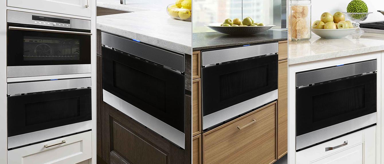 Sharp Microwave Drawer Installation