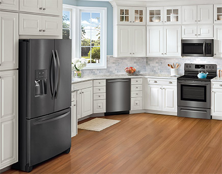 Kitchen Appliances Black Stainless Steel
