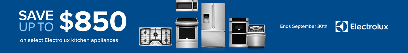 Electrolux Promo Sales Event Page Builder