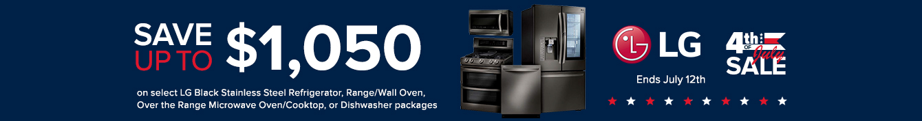LG - Save Up To $1,050 On Select Kitchen Appliance Packages