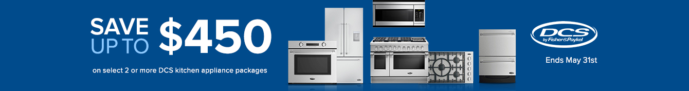 Bundle and save $450 on DCS Appliance Packages