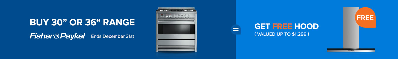 Bundle and save $600 on Fisher Paykel Appliance Packages