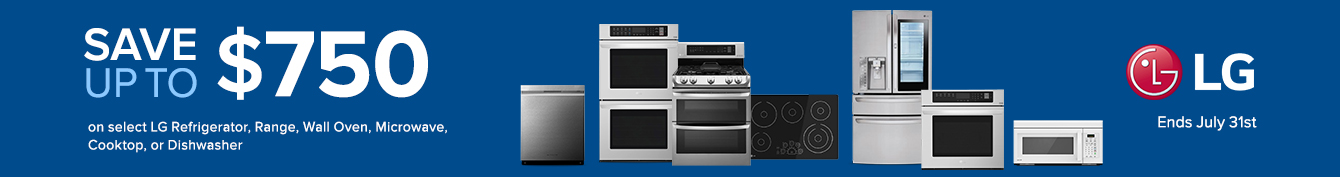 LG Kitchen Appliance Rebate