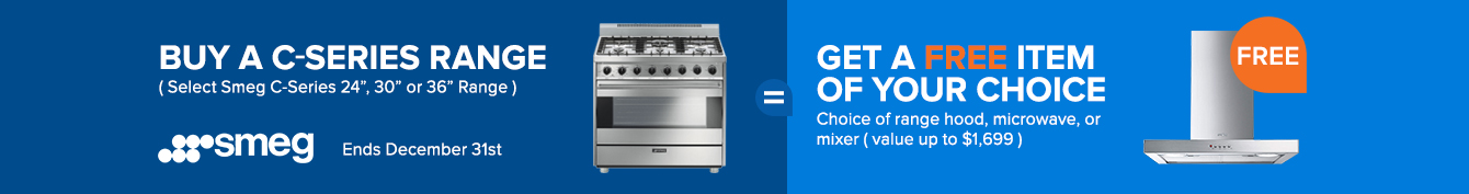 Smeg C-series Range Promotion