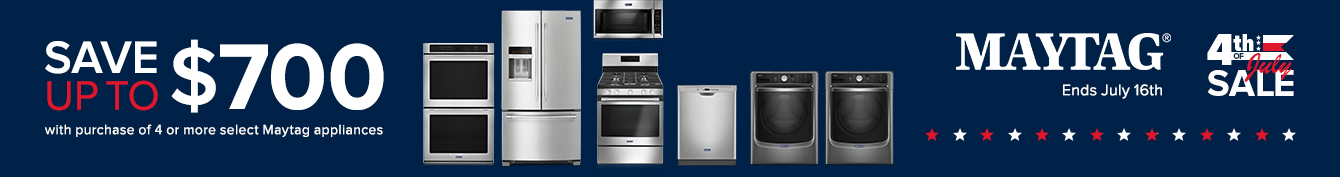 Maytag - Save Up To $700 On Appliances