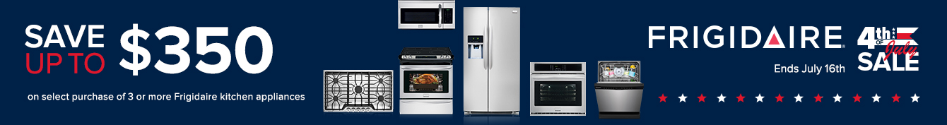 Frigidaire - Save Up To $350 On Kitchen Appliance Packages