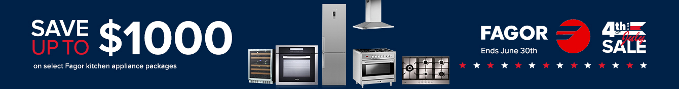 Fagor - Save Up To $1,000 On Kitchen Appliance Packages